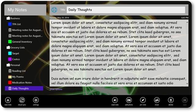 -My Notes- - Imagem 1 do software