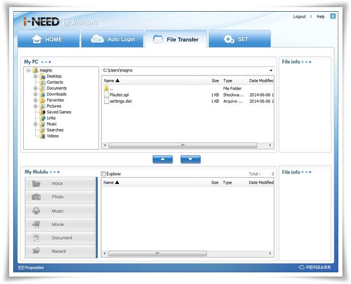 I-NEED - Imagem 3 do software
