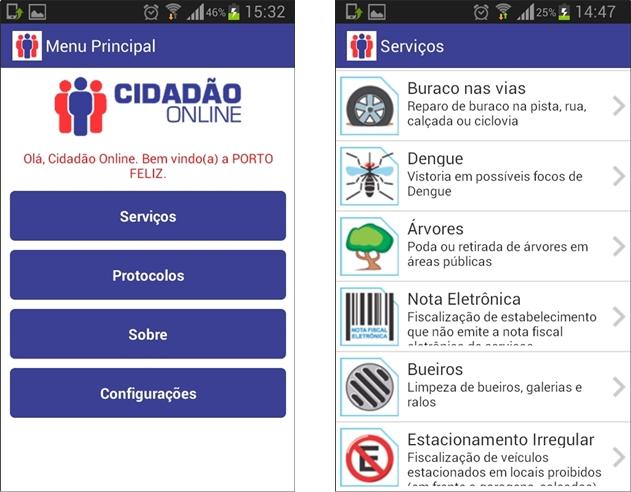 Cidadão Online - Imagem 1 do software