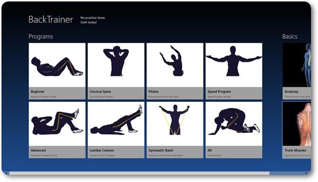 BackTrainer - Imagem 1 do software