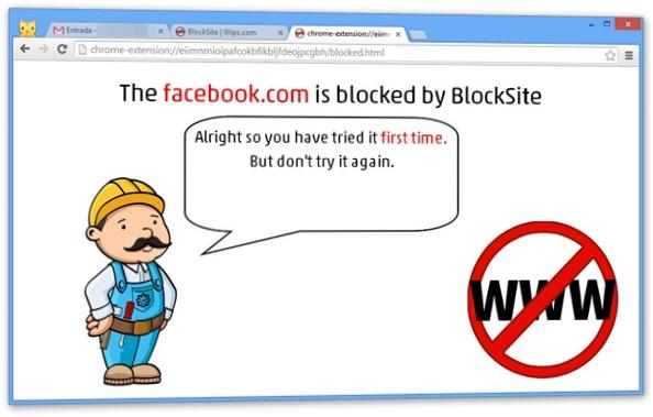 Acesso bloqueado