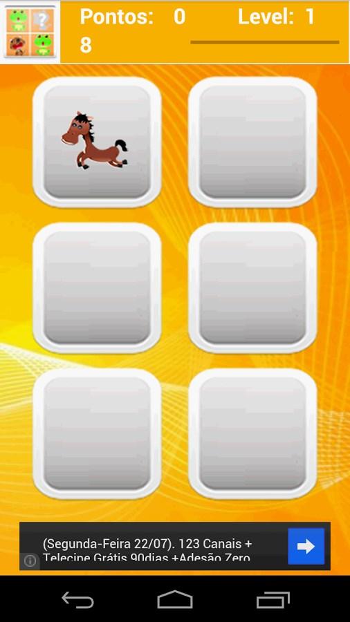 Jogo da memória : Animais - Imagem 2 do software