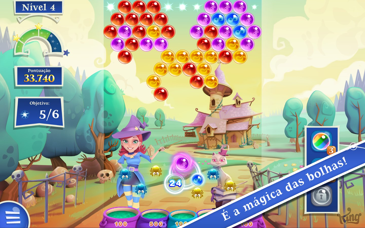 Bubble Witch 2 Saga - Imagem 1 do software
