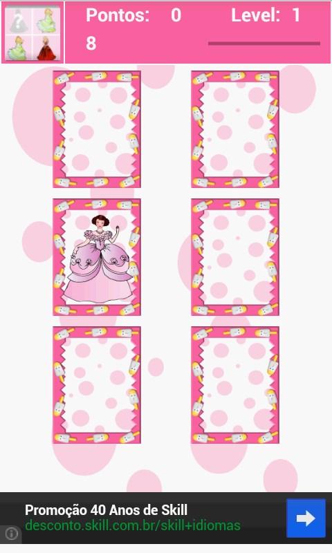 Jogo da Memória: Princesas - Imagem 2 do software