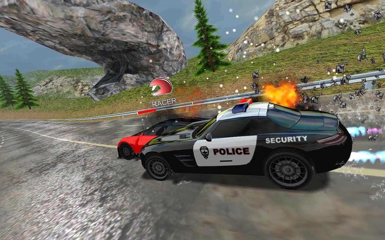 Racers Vs Cops : Multiplayer - Imagem 1 do software