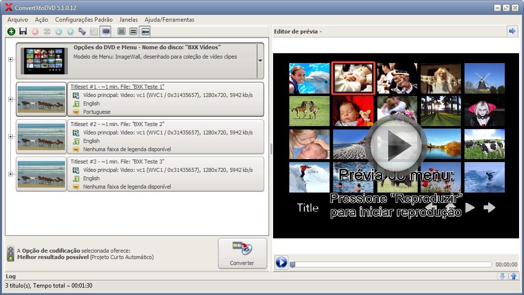 ConvertXtoDVD - Imagem 2 do software