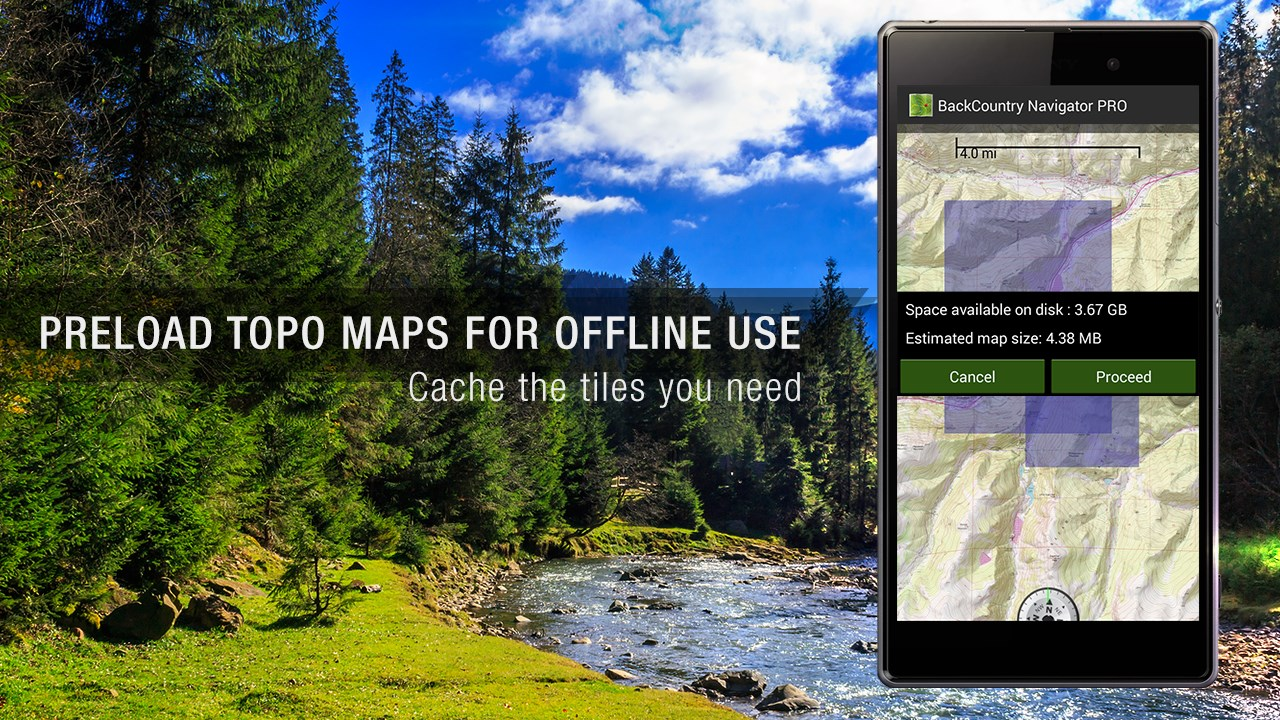 BackCountry Nav Topo Maps GPS - Imagem 1 do software
