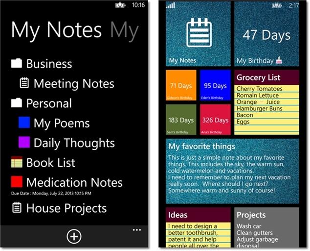 My Notes - Imagem 1 do software