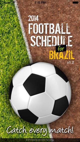 Football Schedule Brazil 2014 - Imagem 1 do software