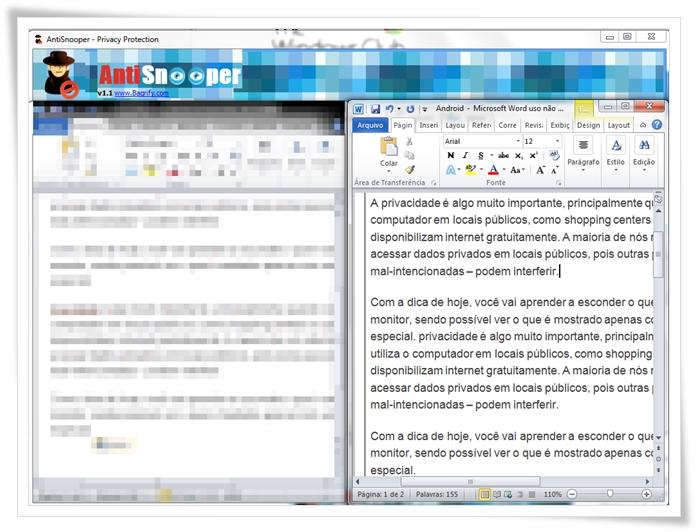 AntiSnooper - Imagem 1 do software