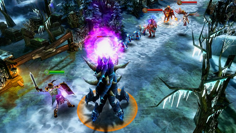 Heroes of Order & Chaos - Imagem 1 do software