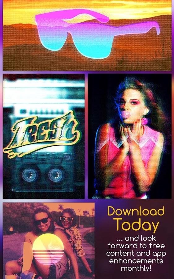 1986 - 80s Photo Filters & FX - Imagem 2 do software