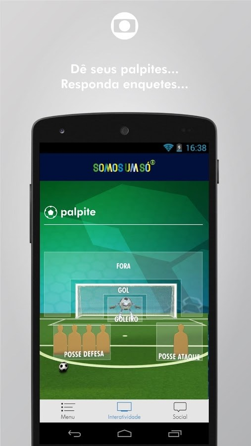 Globo - Imagem 2 do software