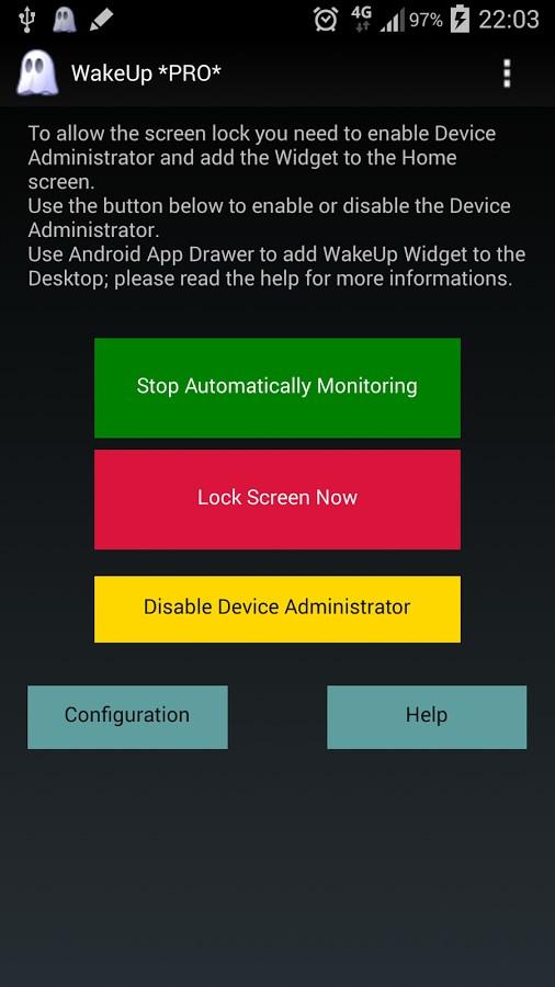 WakeUp - Imagem 1 do software