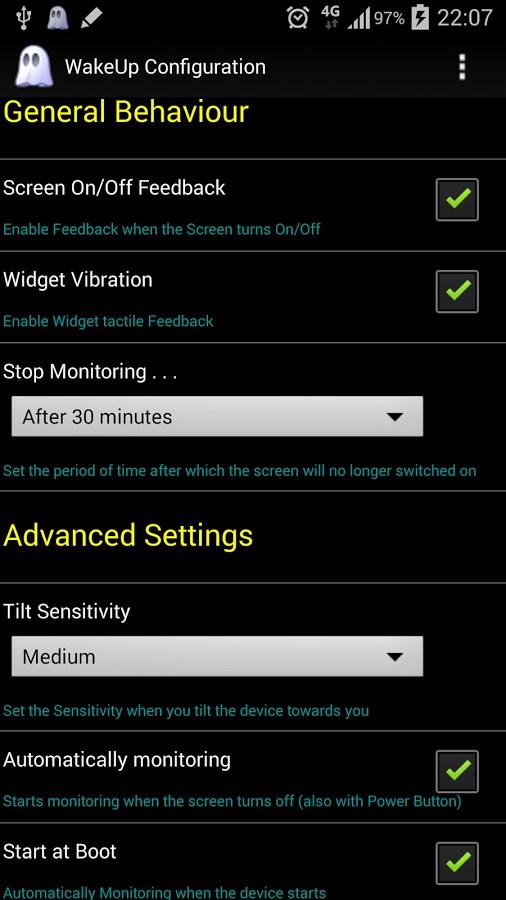 WakeUp - Imagem 2 do software