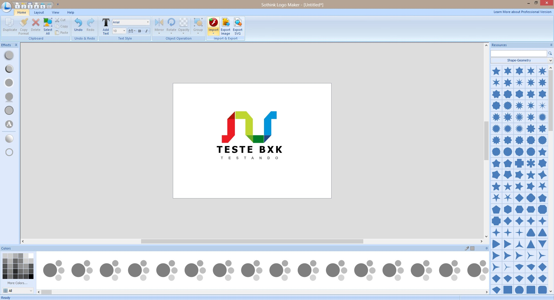 Sothink Logo Maker - Imagem 1 do software