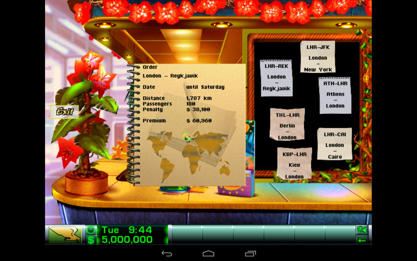 Airline Tycoon Deluxe Demo - Imagem 1 do software