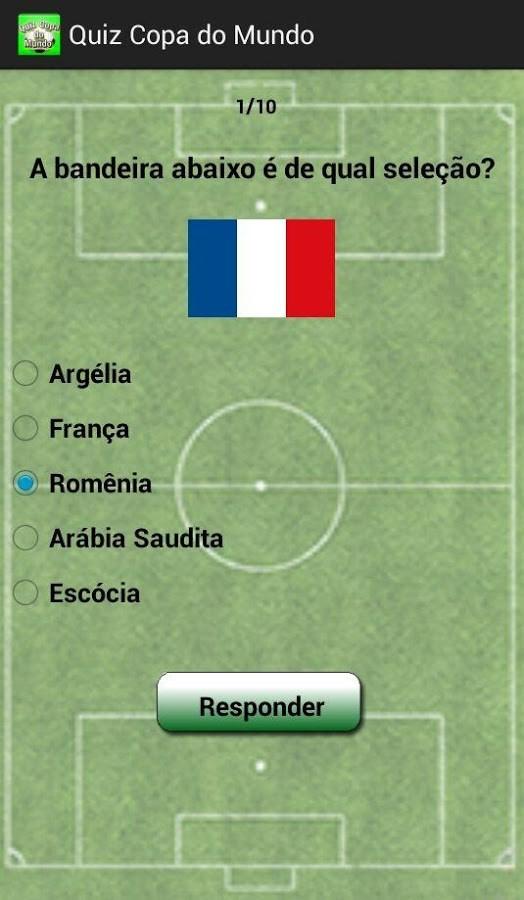 Quiz Copa do Mundo - Imagem 1 do software