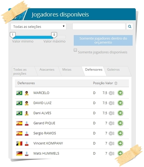 Fantasy McDonald`s da Copa do Mundo da FIFA - Imagem 2 do software