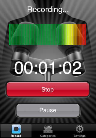 Easy Voice Recorder - Imagem 1 do software