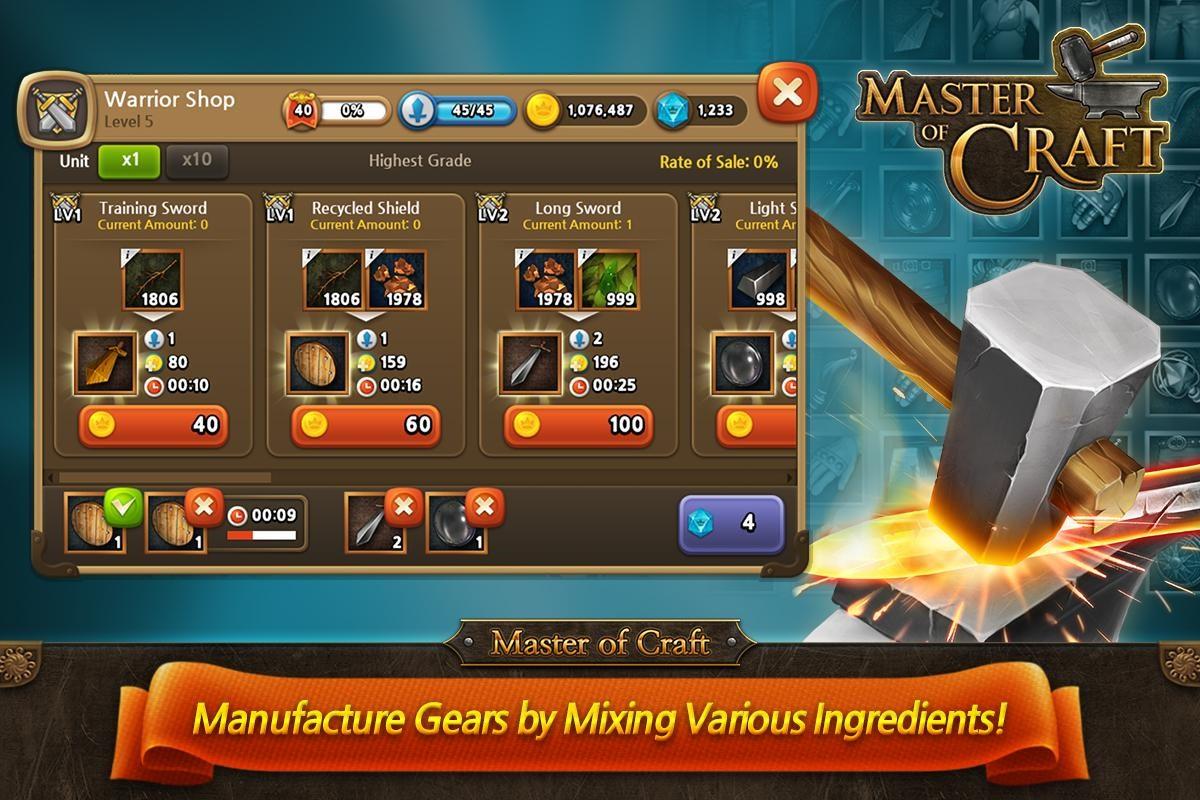 Master of Craft - Imagem 1 do software