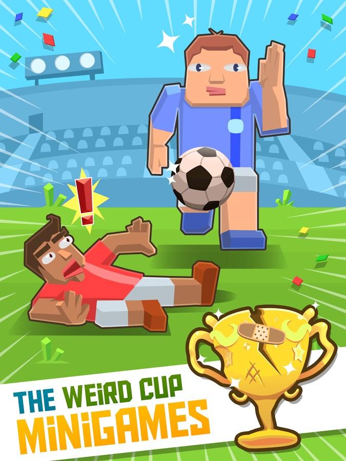 Weird Cup - Jogos de Futebol - Imagem 1 do software