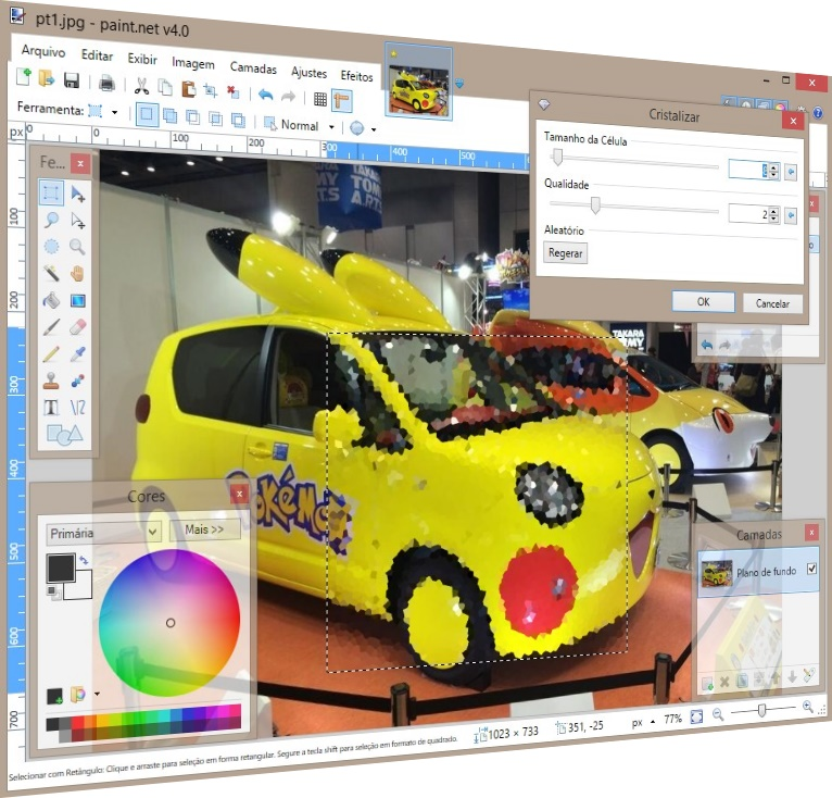 Paint.NET - Imagem 2 do software
