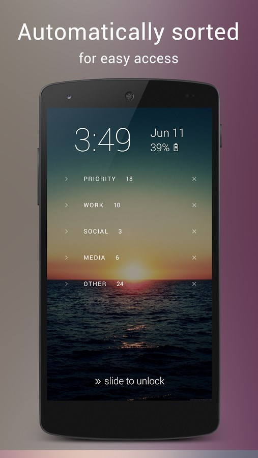 Echo Notification Lockscreen - Imagem 2 do software