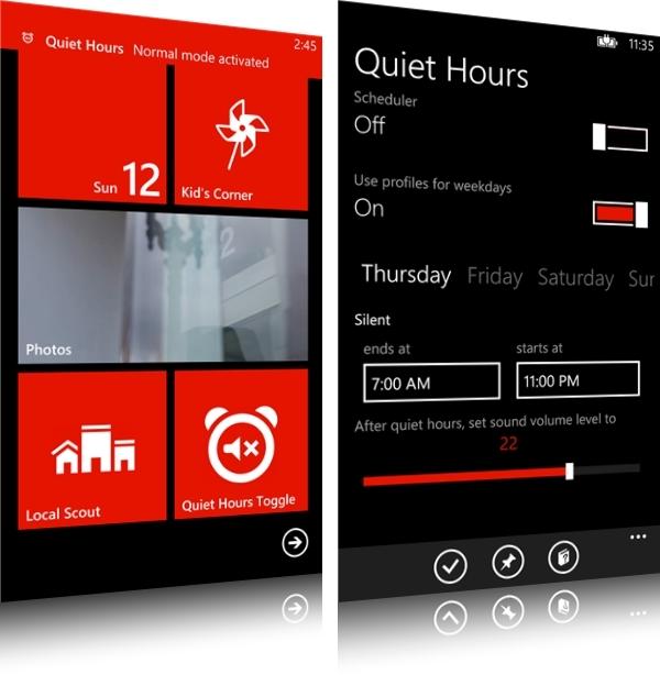 Quiet Hours - Imagem 1 do software