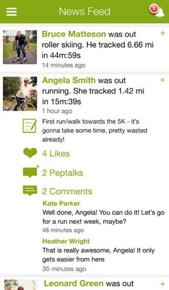 Endomondo Sports Tracker - Imagem 2 do software