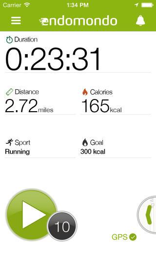 Endomondo Sports Tracker - Imagem 1 do software
