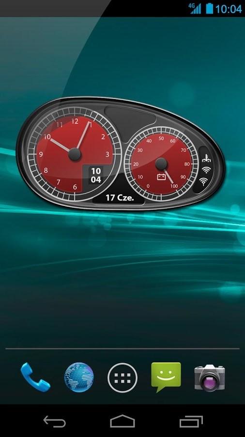 Car Widgets - Red Super Car - Imagem 1 do software