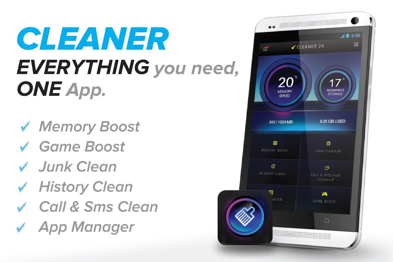 Cleaner -Master Optimizer Free - Imagem 1 do software