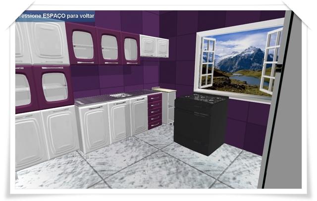 Exemplo de cozinha finalizada