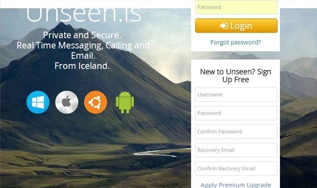 Unseen.is - Imagem 1 do software