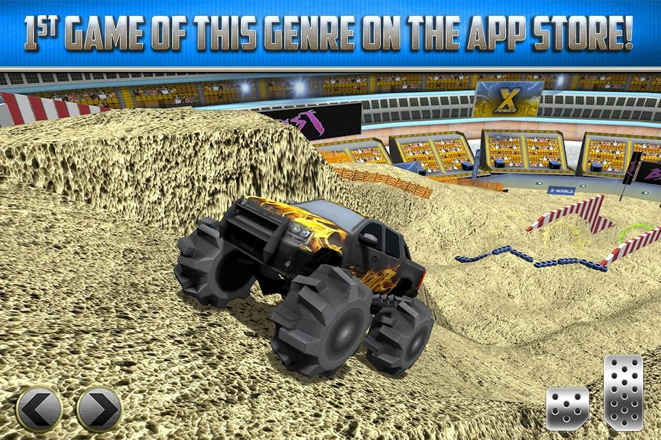 3D Monster Truck Parking Game - Imagem 1 do software