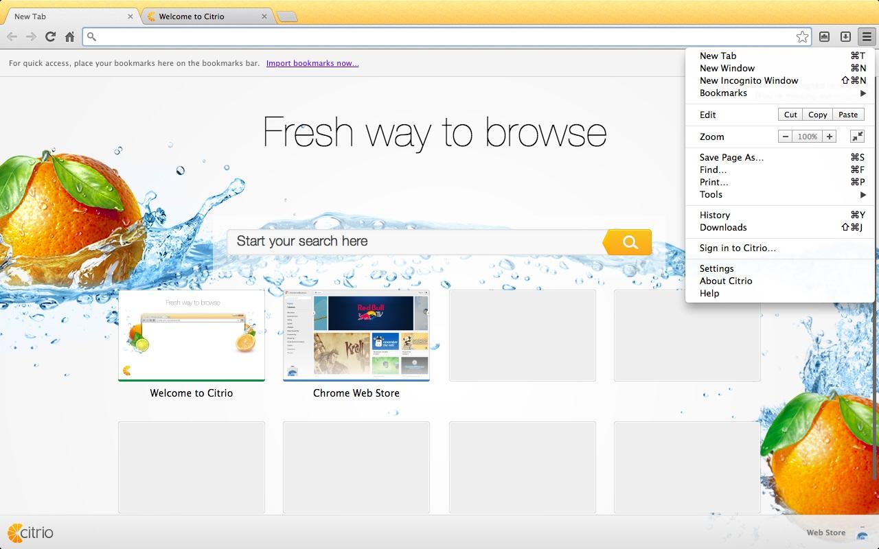 Citrio - Imagem 2 do software