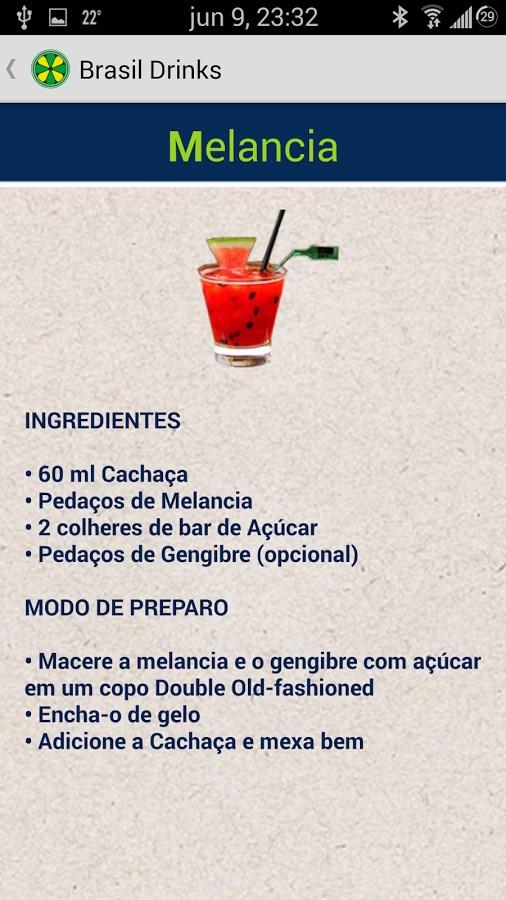 Brasil Drinks - Imagem 2 do software