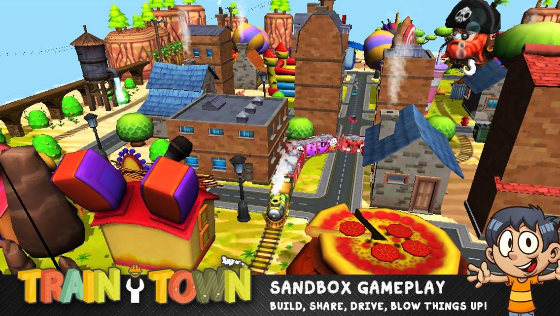 Train Town: Build & Explore - Imagem 1 do software