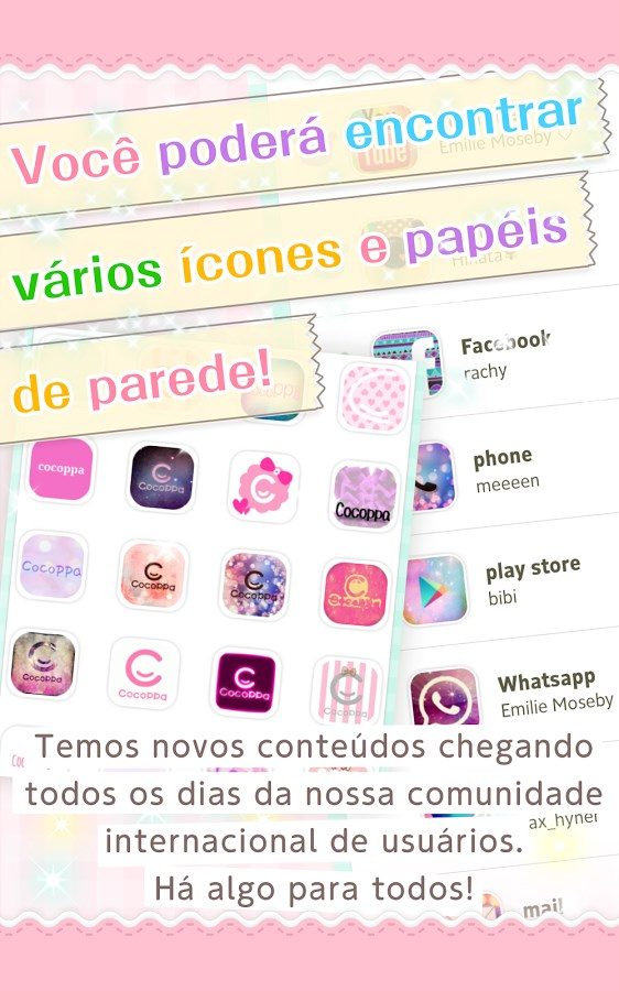 Icon/wallpaper Cute-CocoPPa - Imagem 2 do software