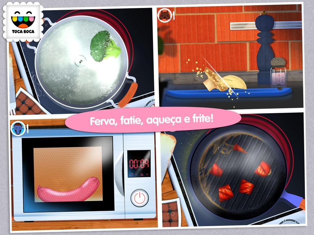 Toca Kitchen - Imagem 1 do software