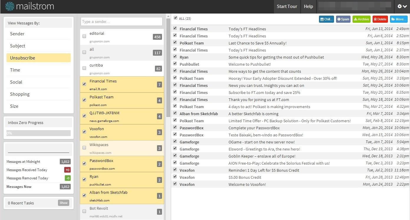 MailStorm - Imagem 1 do software