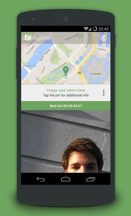 CrookCatcher – Anti Theft - Imagem 2 do software