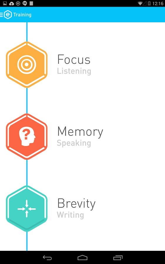 Elevate - Brain Training - Imagem 1 do software
