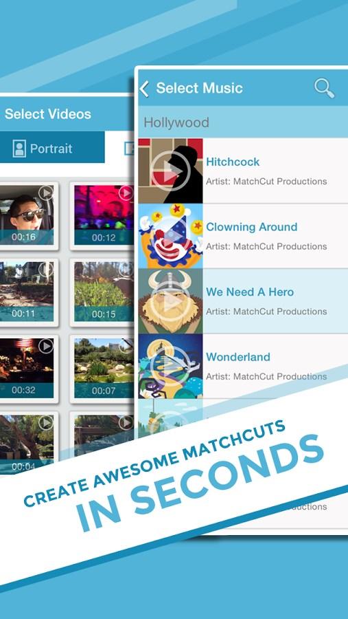 MatchCut Music Video Editor - Imagem 1 do software