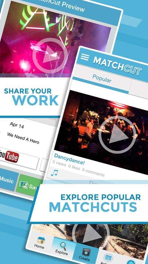 MatchCut Music Video Editor - Imagem 2 do software