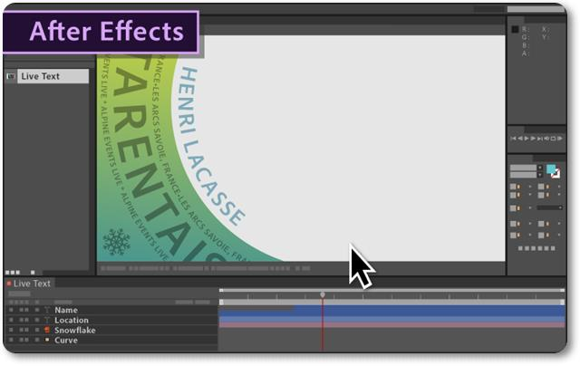 Adobe After Effects - Imagem 2 do software