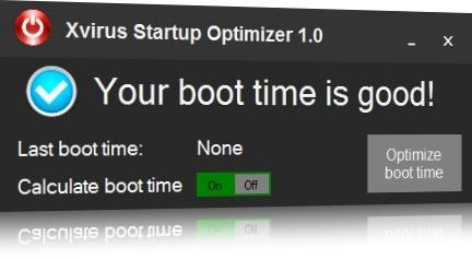Xvirus Startup Optimizer - Imagem 1 do software
