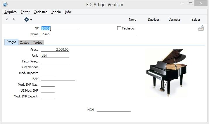 Standard ERP - Imagem 1 do software