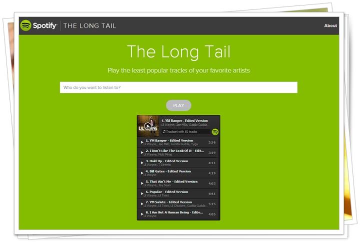 The Long Tail - Imagem 1 do software